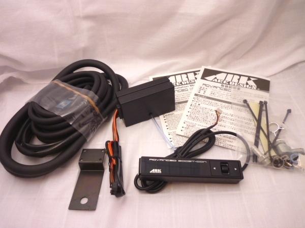 日本製 ブーストコントローラー ARK-DESIGN ABC 赤LED文字 ADVANCED BOOSTCONTROLLER ブーコン made in japan EVC SBC VVC AVC_画像2