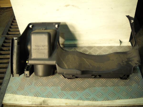 スズキ ワゴンR LA-MC22S ステアリングコラムホール ハンドル下パネル 73811-76F10_画像2