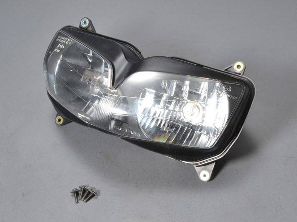 優良販 VFR800P RC49 白バイ 純正ヘッドライト ヘッドランプ 純正ボルト付_画像2