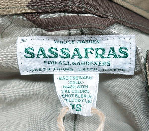 3T7320/新品 ササフラス シードキャリーバドジャケット ウィーズポプリン ウッドランドカモ SASSAFRAS Seeds Carry Bud Jacket Weeds Popli_画像5