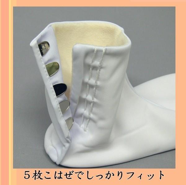 暖かい足袋セット フリース足袋とインナー wk-150 和装 小物 温かい足袋 メール便対応_画像4