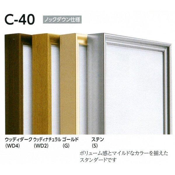 額縁 仮額縁 油絵額縁 油彩額縁 仮縁 アルミフレーム C-40 サイズP50号_画像1