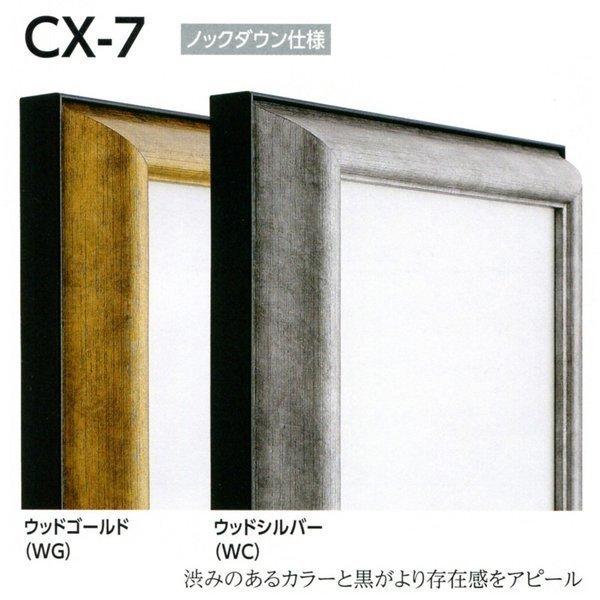 額縁 仮額縁 油絵額縁 油彩額縁 仮縁 アルミフレーム CX-7 サイズF4号_画像1