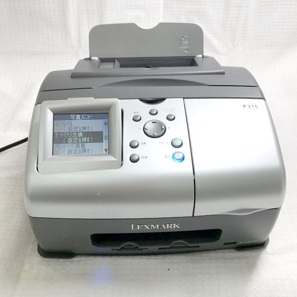 パソコン 周辺機器■LEXMARK SnapShot P315 写真プリンター■通電チェックのみジャンク品扱い