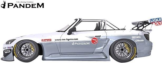 【M's】ホンダ HONDA S2000 AP1/AP2 (1999y-2009y) PANDEM GTウイング//FRP TRA京都 パンデム エアロ 大型ウイング F1ウイング リア リヤ_画像3