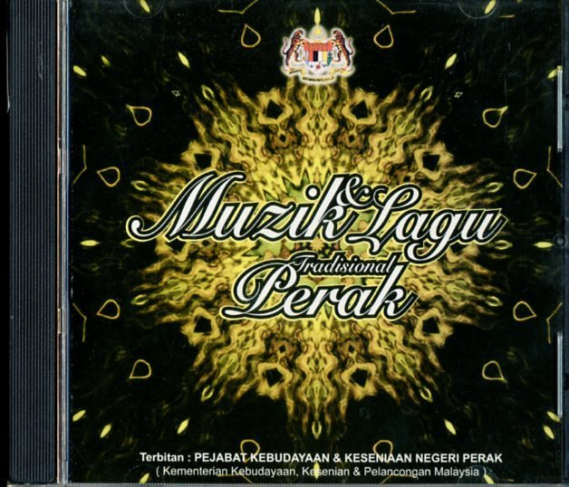 CD☆V.A. / マレーシア・ペラ州の伝統歌謡集 / MUZIK DAN LAGU TRADISIONAL PERAK / -_2522-038