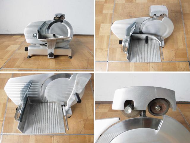 中古厨房 イタリア製 エフエーシー社 電動ハムスライサー 100V W520 2012年製_画像2