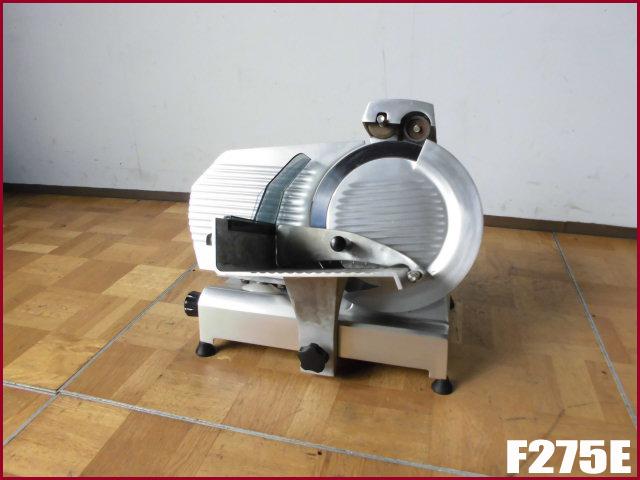 中古厨房 イタリア製 エフエーシー社 電動ハムスライサー 100V W520 2012年製_画像1