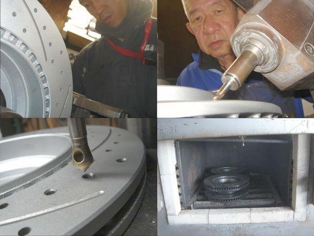 ニュービートル Rsi 9CAXJ V6 3.2 VOING C5SD カーブ スリット ブレーキ ローター ブレーキ ディスク フロント用_画像2