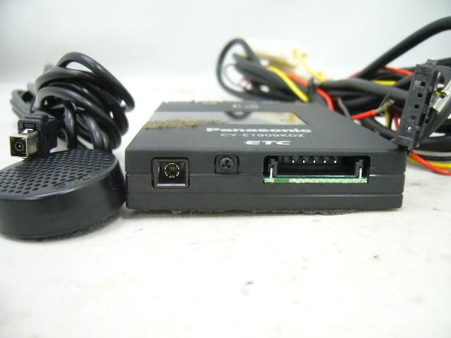 パナソニック アンテナ分離型 ETCユニット CY-ET909KDZ Panasonic ETC車載器_画像4