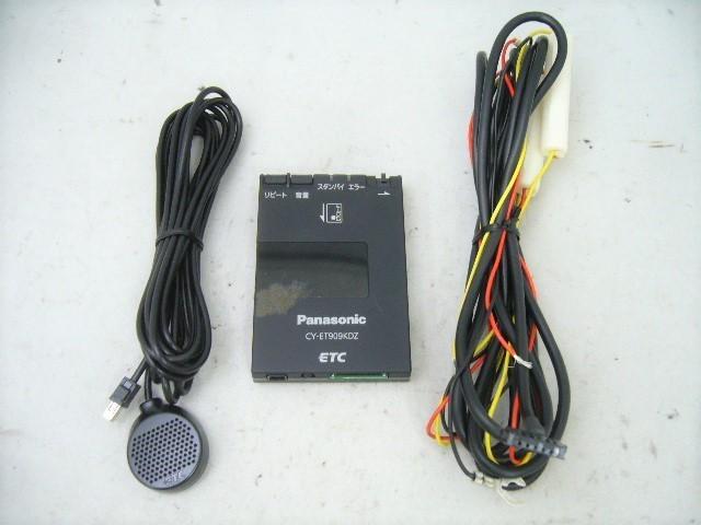 パナソニック アンテナ分離型 ETCユニット CY-ET909KDZ Panasonic ETC車載器_画像1