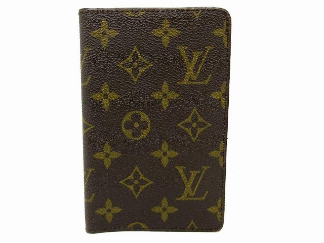 美品 ルイヴィトン ■ モノグラム パスポートカバー PVC レザー フランス製 ヴィンテージ レア 小物 LOUIS VUITTON (65823