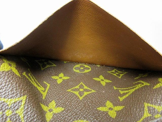 美品 ルイヴィトン ■ モノグラム パスポートカバー PVC レザー フランス製 ヴィンテージ レア 小物 LOUIS VUITTON (65823_画像5