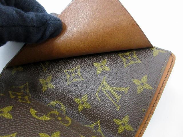 美品 ルイヴィトン ■ モノグラム パスポートカバー PVC レザー フランス製 ヴィンテージ レア 小物 LOUIS VUITTON (65823_画像6
