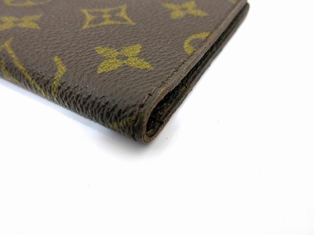 美品 ルイヴィトン ■ モノグラム パスポートカバー PVC レザー フランス製 ヴィンテージ レア 小物 LOUIS VUITTON (65823_画像7
