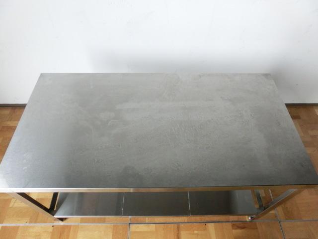 中古厨房 作業台 ガス台 W1200×D600×H650mm 調整脚(+20mm)_画像3