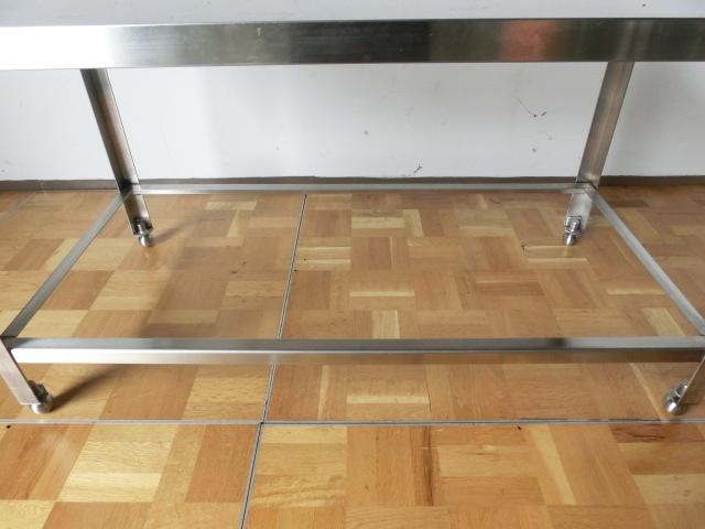中古厨房 作業台 ガス台 W1200×D600×H650mm 調整脚(+20mm)_画像7