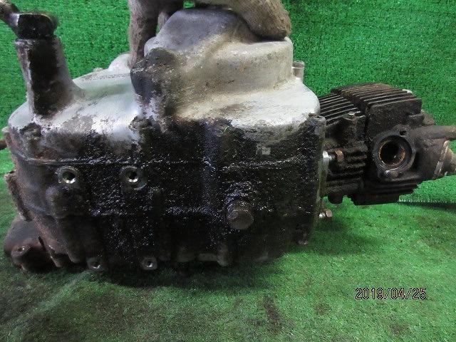 C100スーパーカブピノキオ純正部品取り修理ベースエンジン☆クランクキング、チェンジOK!検C105、102、2つ星吊りカブOHV_画像6
