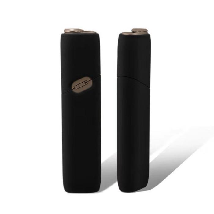 【メール便送料180円】IQOS3 アイコス3 MULTI マルチ 対応 シリコンケース ブラック/煙草 喫煙 電子タバコ 新型アイコス_画像3