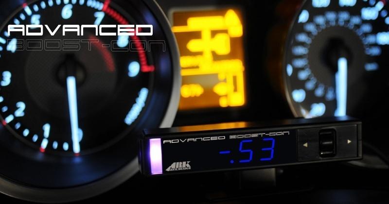 日本製 ブーストコントローラー ARK-DESIGN ABC 赤LED文字 ADVANCED BOOSTCONTROLLER ブーコン made in japan EVC SBC VVC AVC_画像7