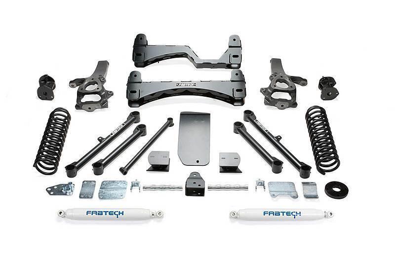 FABTECH ファブテック 2013-2018 ダッジ/ダッヂ ラム1500 4WD ピックアップ トラック 6インチリフトアップキット_画像1