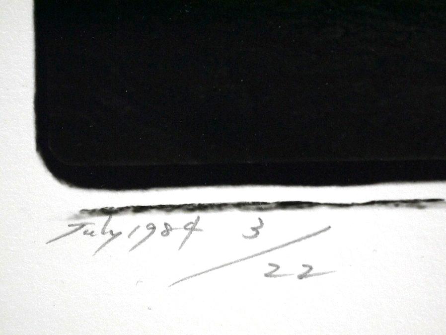 ■真作保証■【大坂寛】 ゼラチンシルバープリント 『Syzygy #35 July 1984』■ed.22■サインあり■額装:41.5×32cm■_画像7