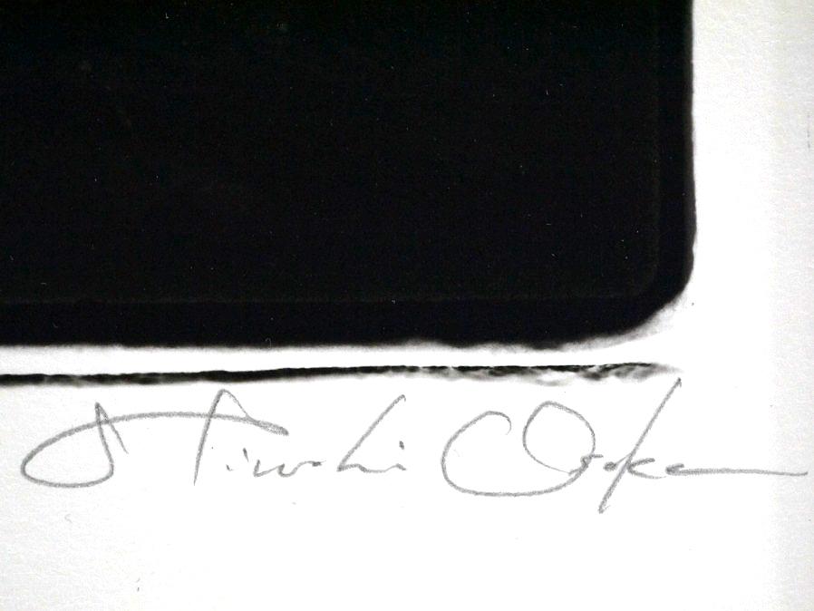 ■真作保証■【大坂寛】 ゼラチンシルバープリント 『Syzygy #35 July 1984』■ed.22■サインあり■額装:41.5×32cm■_画像8