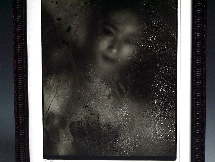 ■真作保証■【大坂寛】 ゼラチンシルバープリント 『Syzygy #103-B Mar. 1987』■ed.22■サインあり■額装:41.5×32cm■_画像2