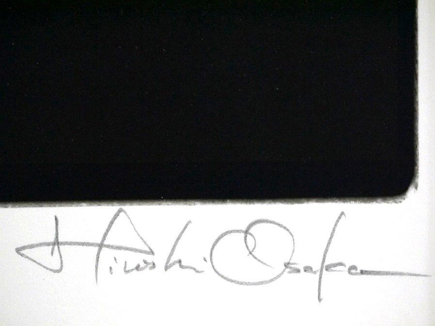 ■真作保証■【大坂寛】 ゼラチンシルバープリント 『Syzygy #93 July 1986』■ed.22■サインあり■額装:41.5×32cm■_画像8