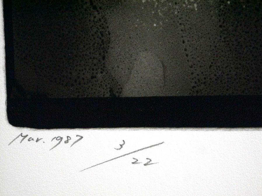 ■真作保証■【大坂寛】 ゼラチンシルバープリント 『Syzygy #103-B Mar. 1987』■ed.22■サインあり■額装:41.5×32cm■_画像6