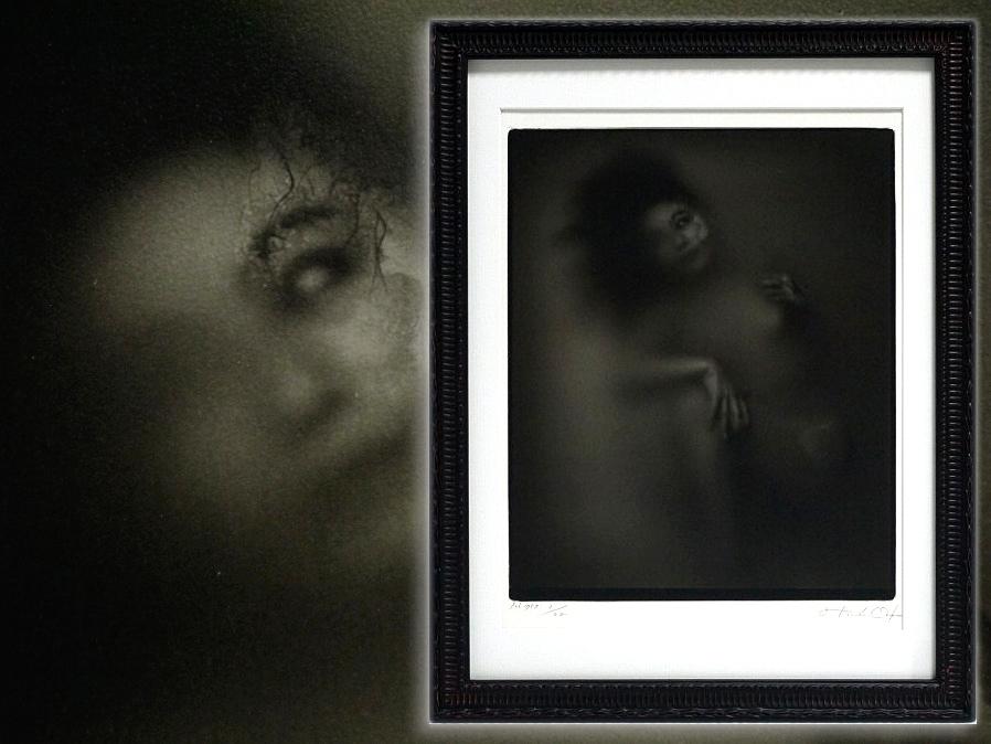 ■真作保証■【大坂寛】 ゼラチンシルバープリント 『Syzygy #100 Feb. 1987』■ed.22■サインあり■額装:41.5×32cm■_画像1