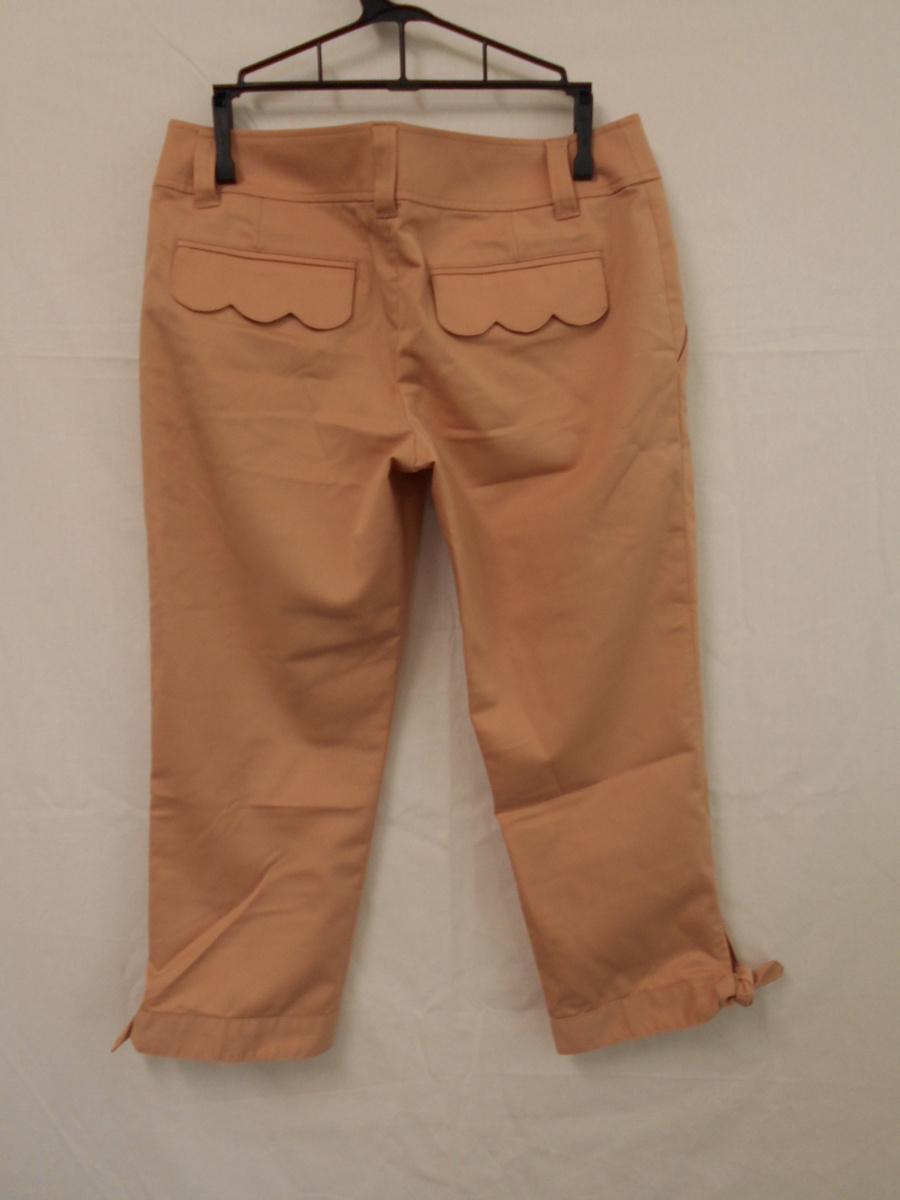 レディース パンツ 裾リボン JILLSTUART ジルスチュアート サイズP ピンク 1.2回使用_画像2