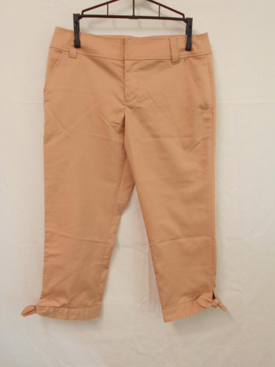 レディース パンツ 裾リボン JILLSTUART ジルスチュアート サイズP ピンク 1.2回使用_画像1