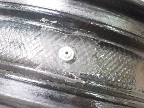 BST blackstone TEK ホイール 7017 17x3.50-150 dotE 1点のみ 18インチ? DUCATI ドゥカティ カーボン /1倉38264_画像6