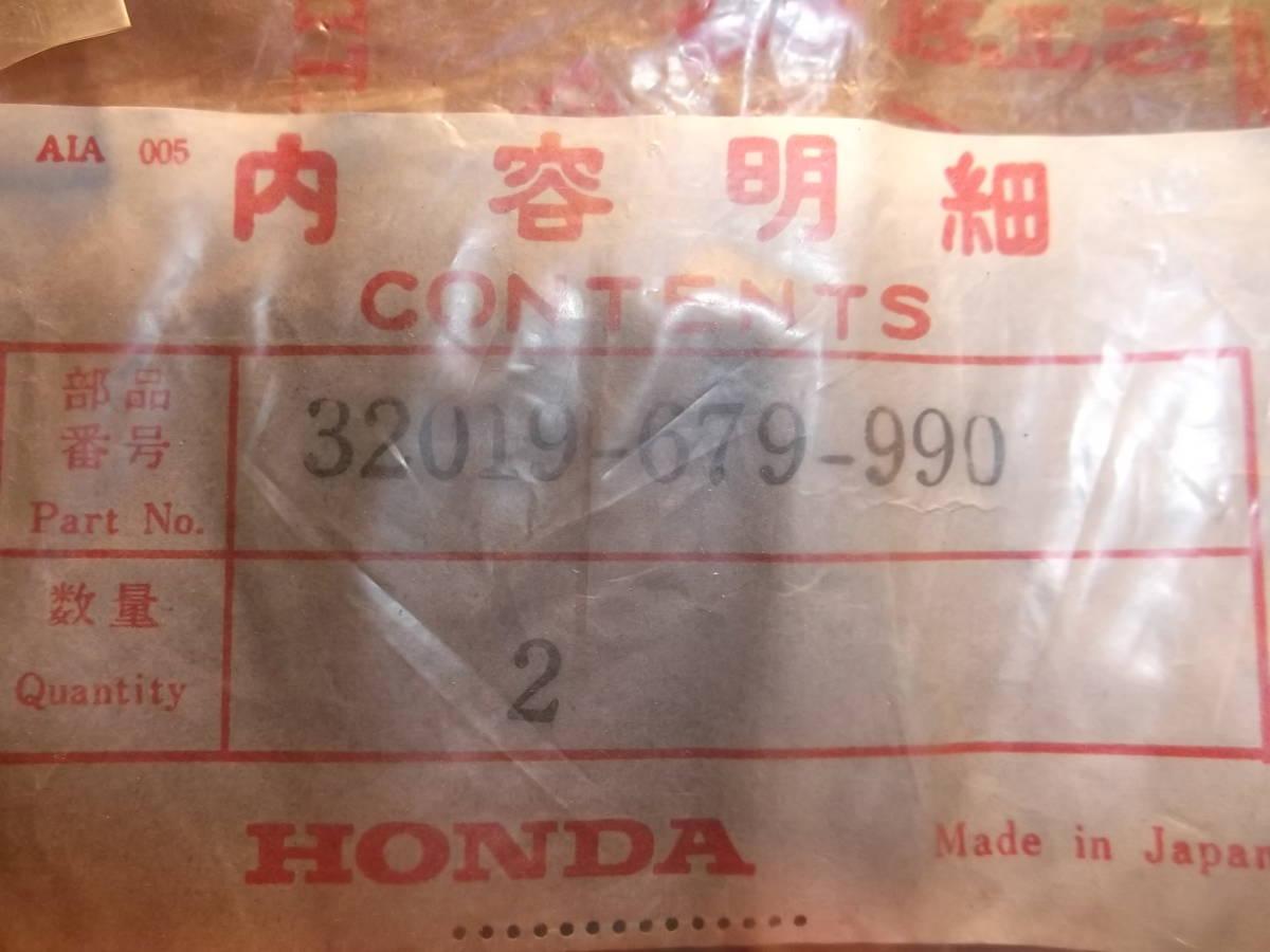 旧車パーツ ホンダ 純正品 アクティ シール デッドストック 未使用品  部品番号:32019-679-990 19423旧車11番_画像2