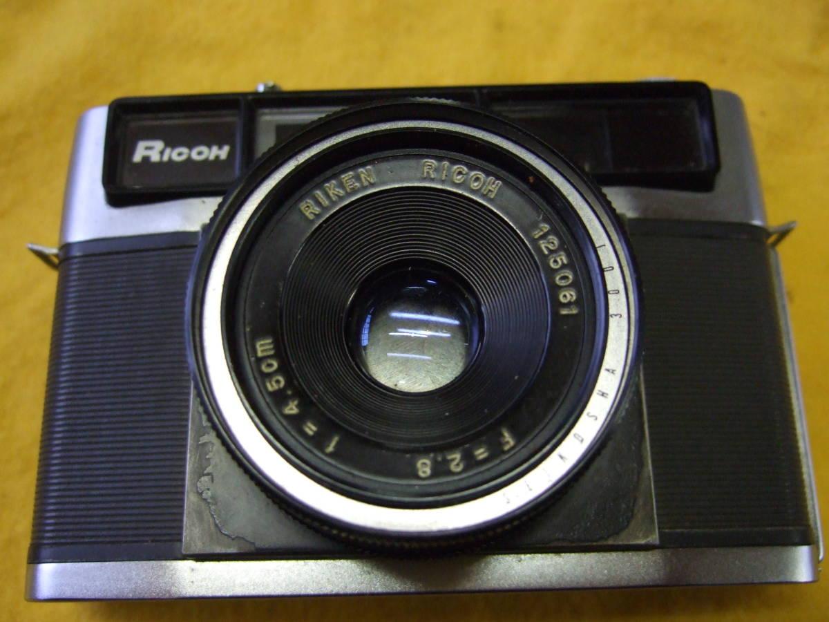 リコー RICOH 300S / RIKEN 118553  RICOH F=2.8 f=4.5cm カメラ フィルムカメラ ジャンク扱い _画像2