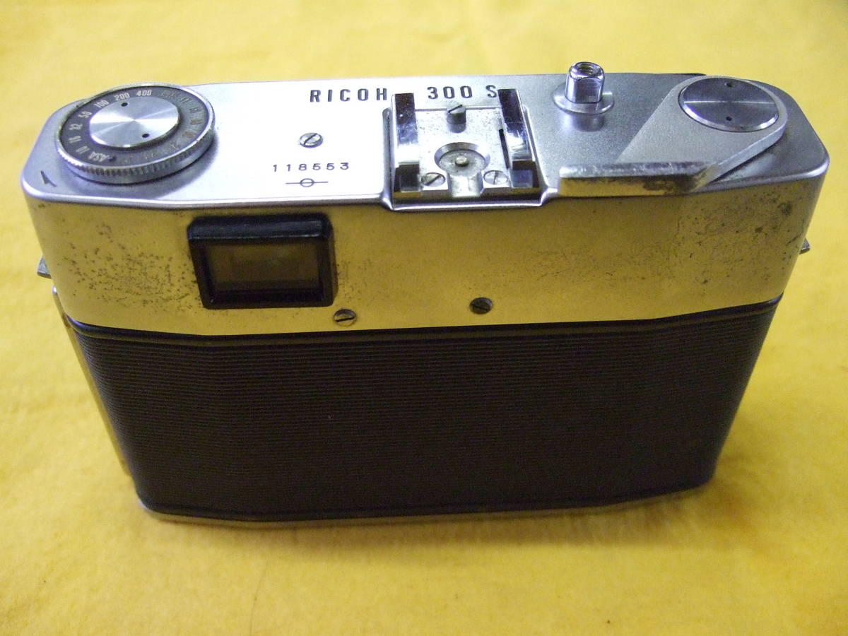 リコー RICOH 300S / RIKEN 118553  RICOH F=2.8 f=4.5cm カメラ フィルムカメラ ジャンク扱い _画像5
