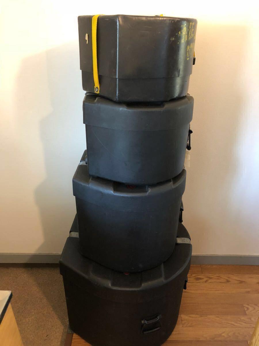 YAMAHA Beech Custom ドラムセット ハードケース付☆最落価格なし・売り切りです_画像7