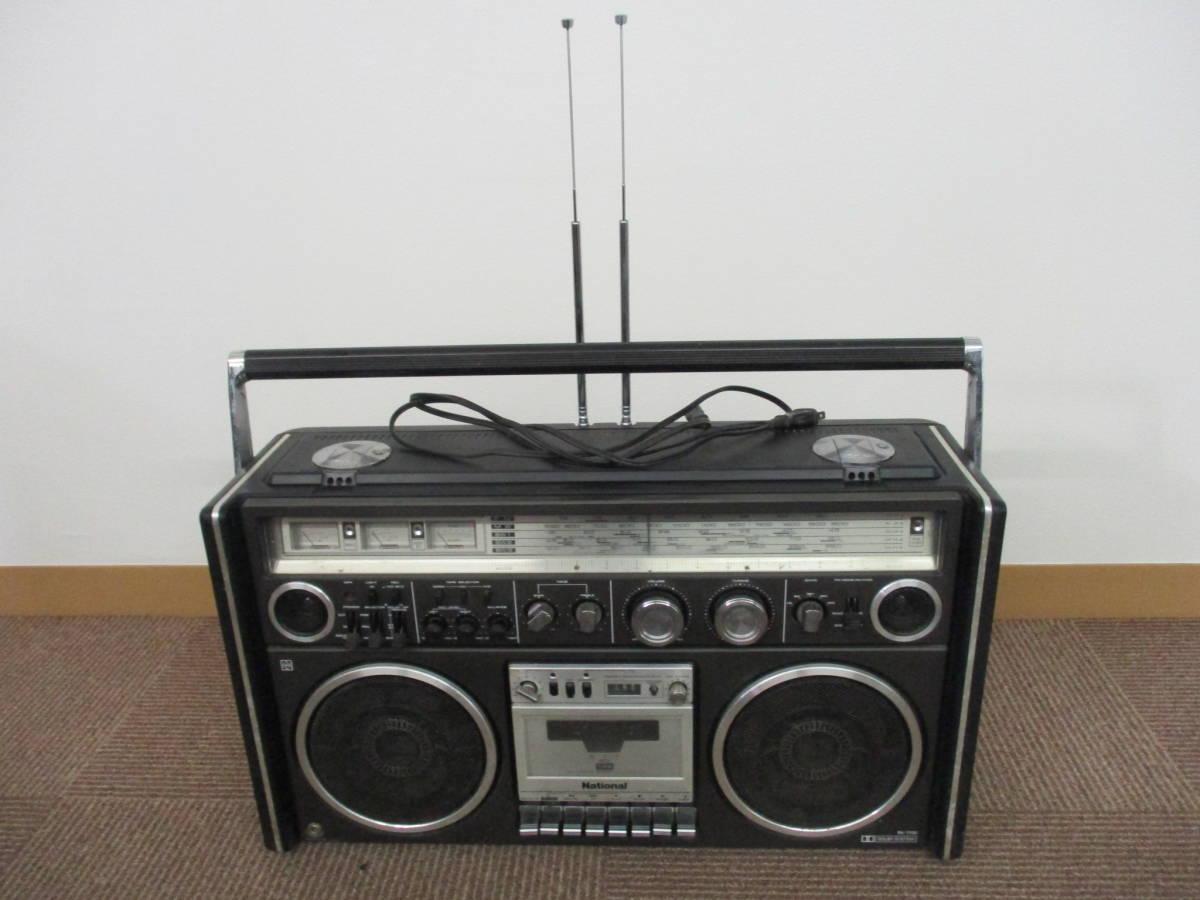 used品 希少 ナショナル 5BAND RADIO カセット RX-7700 完動品 mh