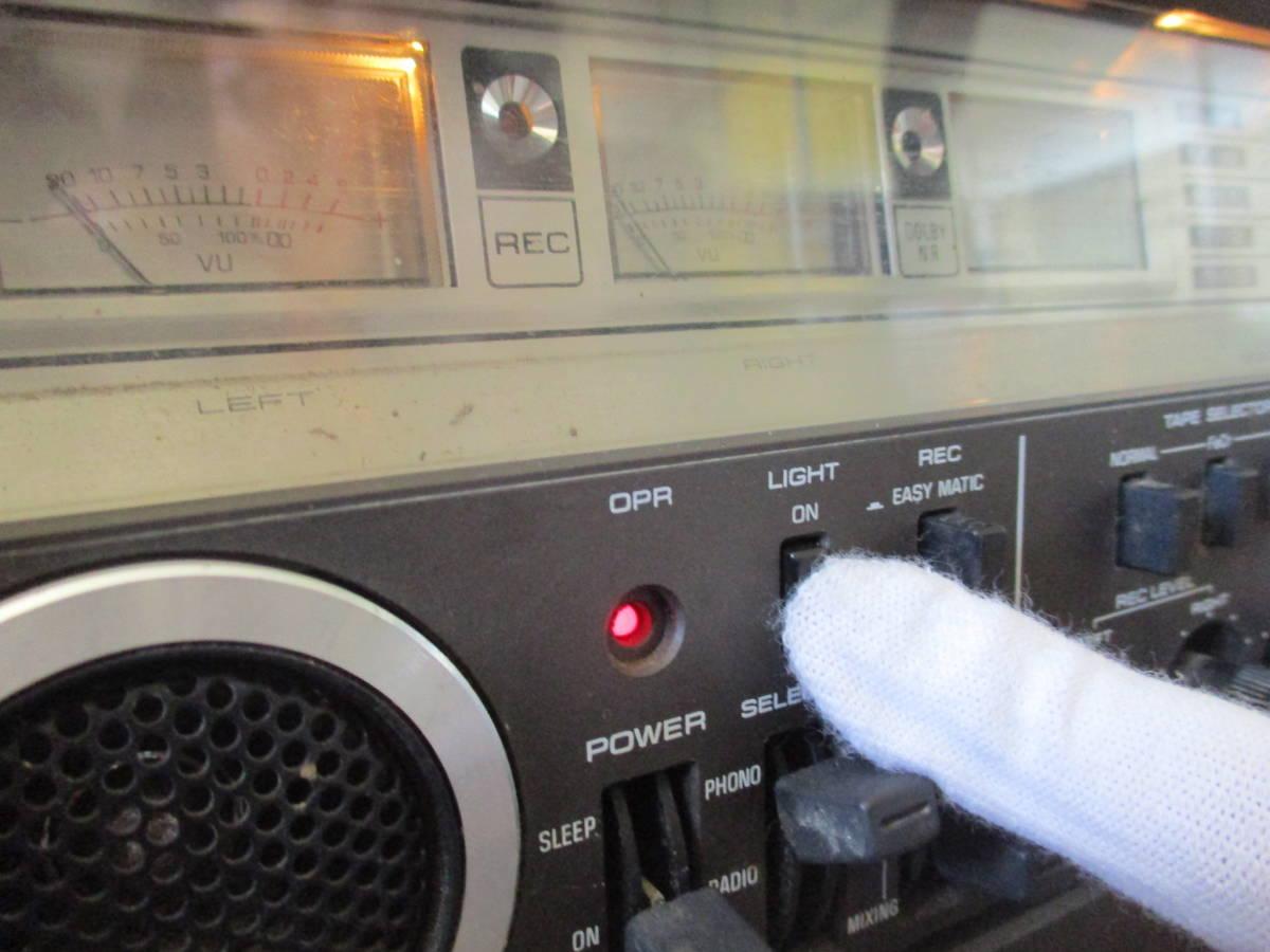 used品 希少 ナショナル 5BAND RADIO カセット RX-7700 完動品 mh_画像3