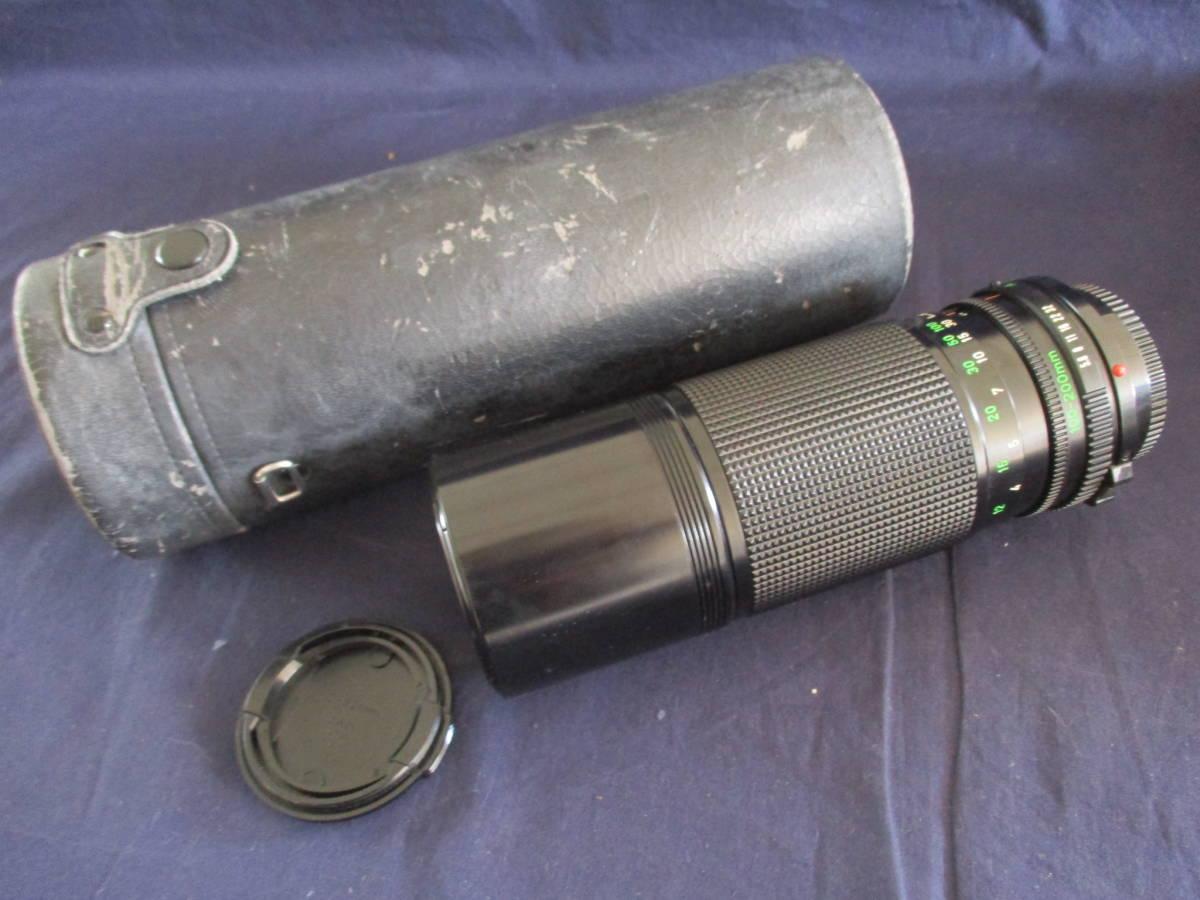 used品 シャッター鳴きあり Canon A-1 説明書 フラッシュ 別途レンズ付 mh_画像6