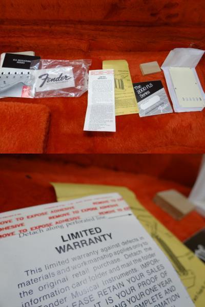 即配送!超貴重!FenderUSA 初年度1988年 エリック・クラプトン シグネイチャー◆Eric Clapton Signature◆TORINO RED トリノレッド_画像10