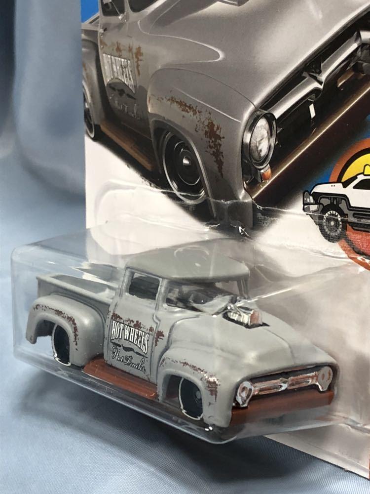 ホットウィール製 カスタム 1956年 フォード トラック 1/64_画像2