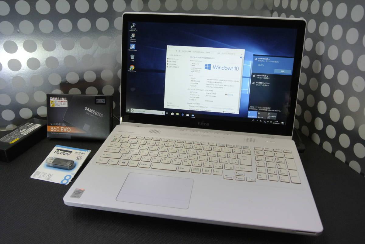 ★W10H×64 i7 4702MQ 2.2GHz新品SSD:500!