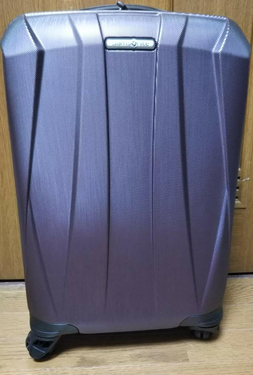 サムソナイトスーツケース 展示品 バンタムBANTAM 紫色