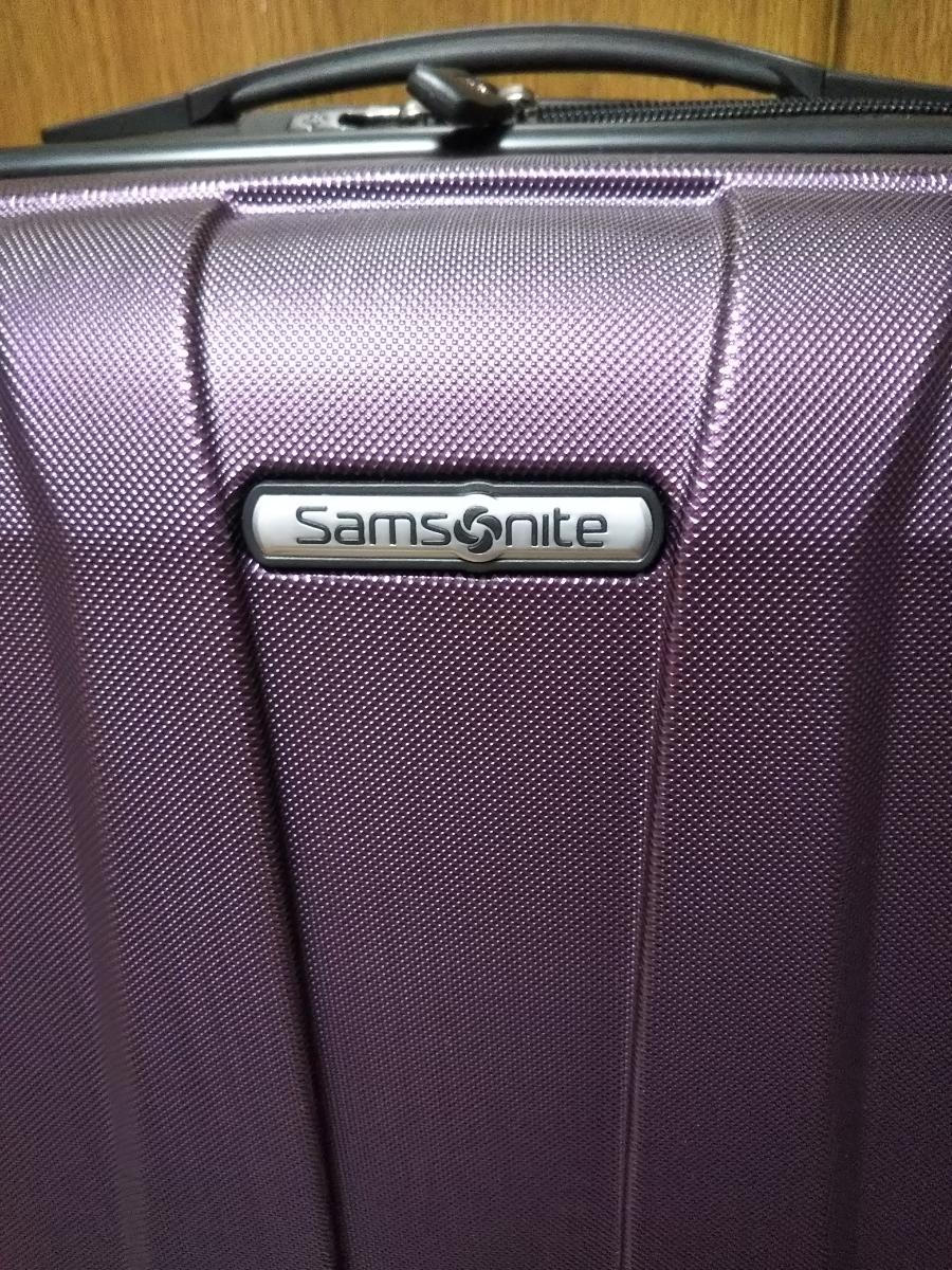 サムソナイトスーツケース 展示品 バンタムBANTAM 紫色_画像2