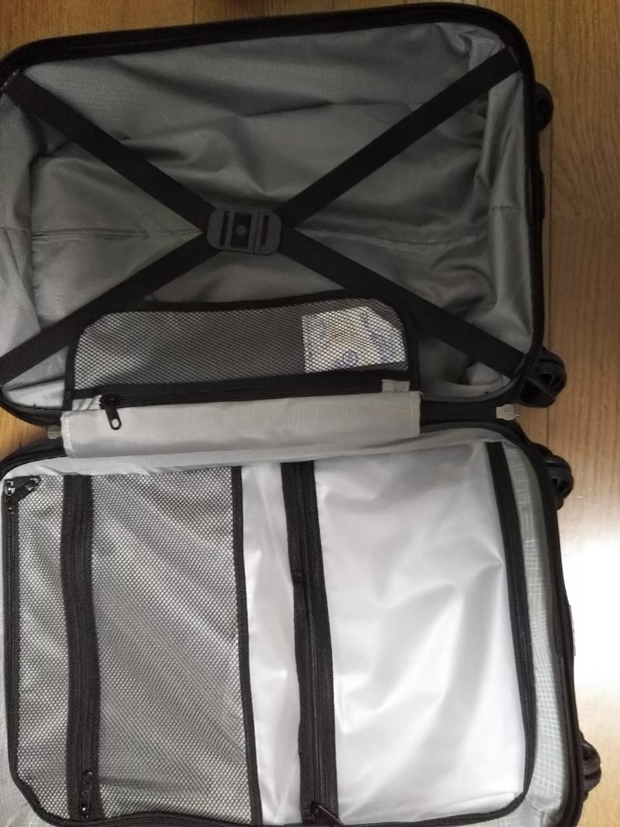 サムソナイトスーツケース 展示品 バンタムBANTAM 紫色_画像4