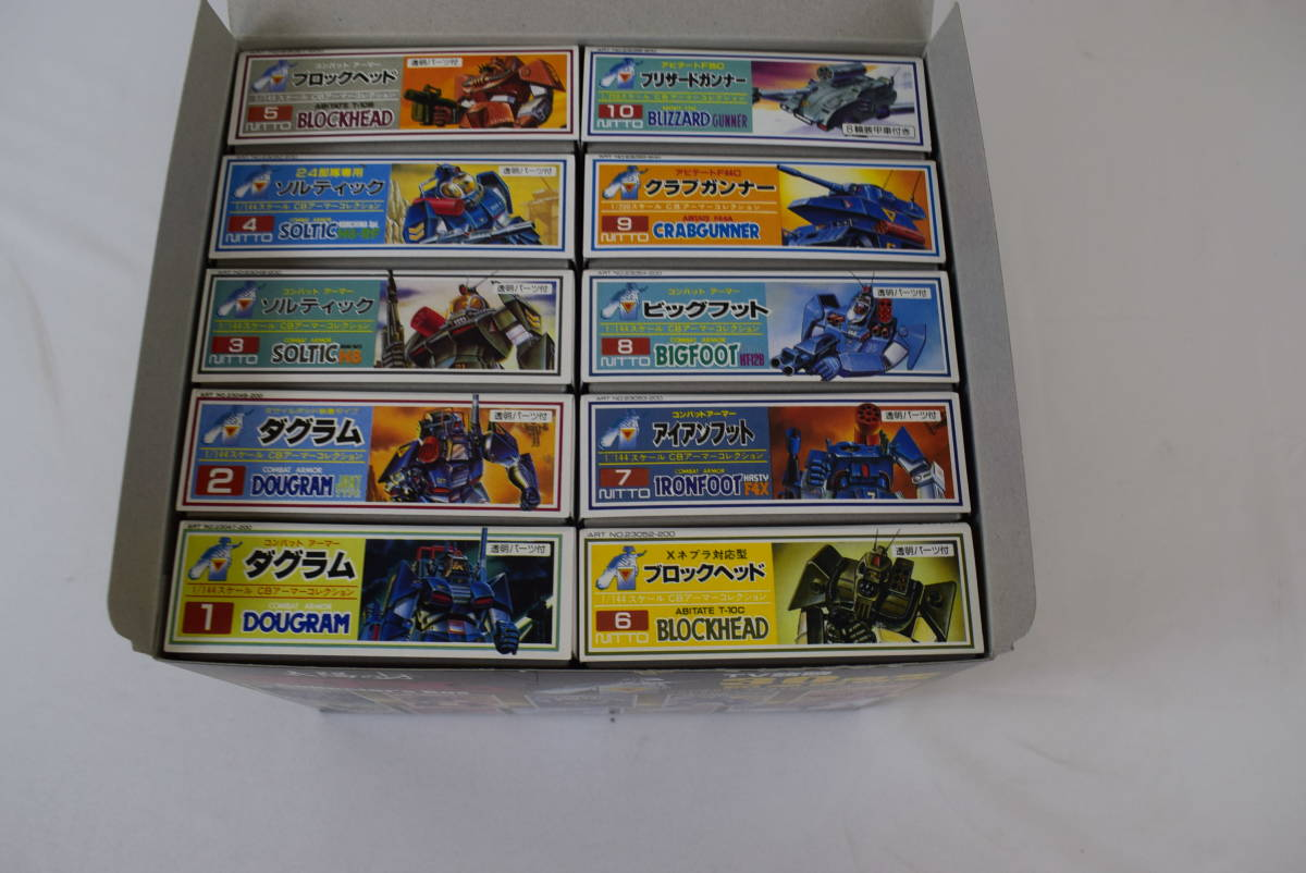SEST190328-20 太陽の牙ダグラム DOYUSHA collectors Box TV放映30周年 記念復刻版 1/200スケール 1/144スケール 全10種_画像5