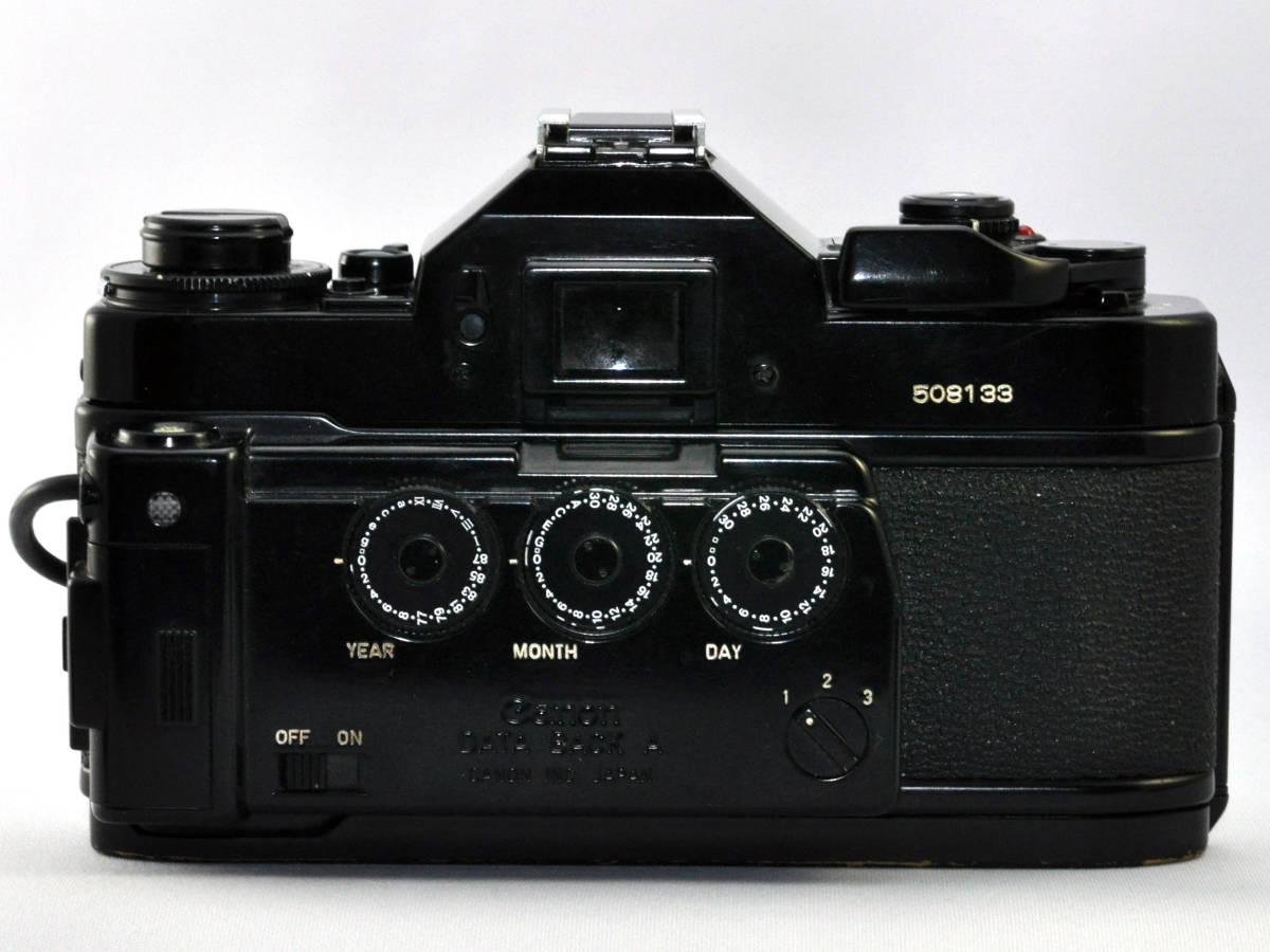 キャノン フィルムカメラ A-1 + ズームレンズ Canon_画像6