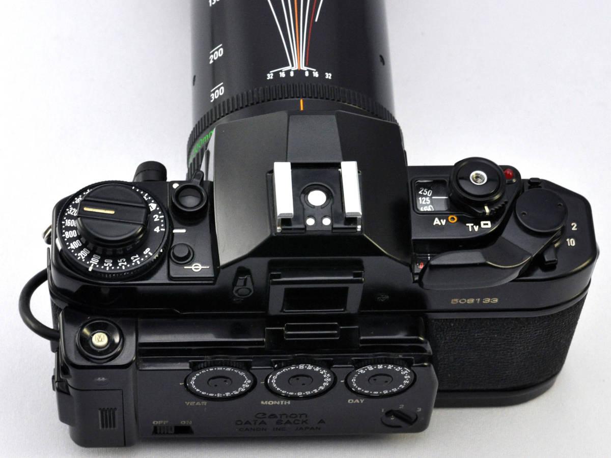 キャノン フィルムカメラ A-1 + ズームレンズ Canon_画像5